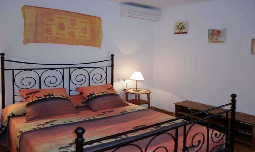 Schlafzimmer Ferienhaus Ibiza für 4 Personen IBZ 95