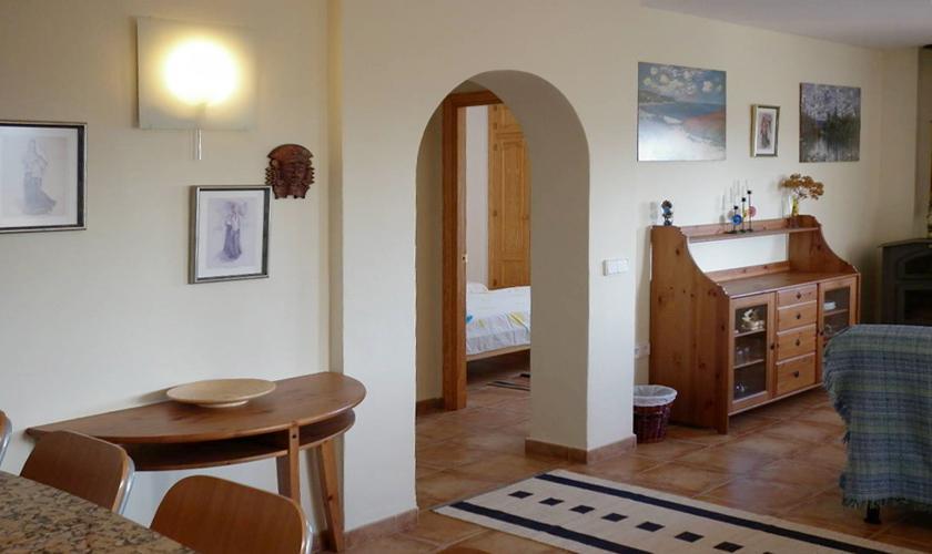 Wohnraum Ferienhaus Ibiza für 4 Personen IBZ 95