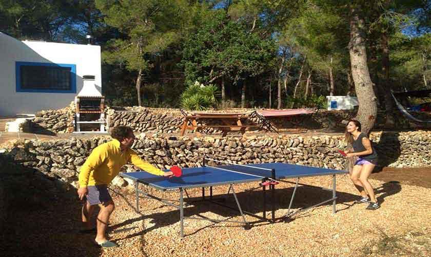 Tischtennis Ferienfinca  Ibiza 6 Personen IBZ 96