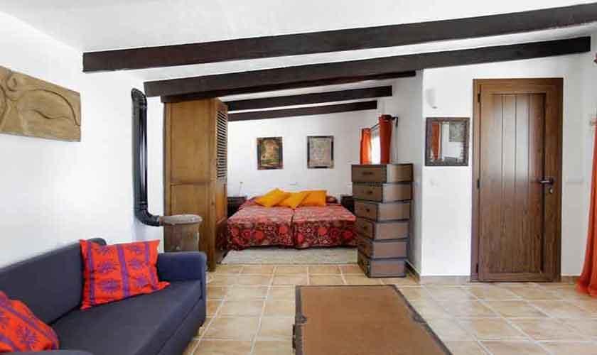 Schlafzimmer Ferienhaus Ibiza 6 Personen IBZ 96