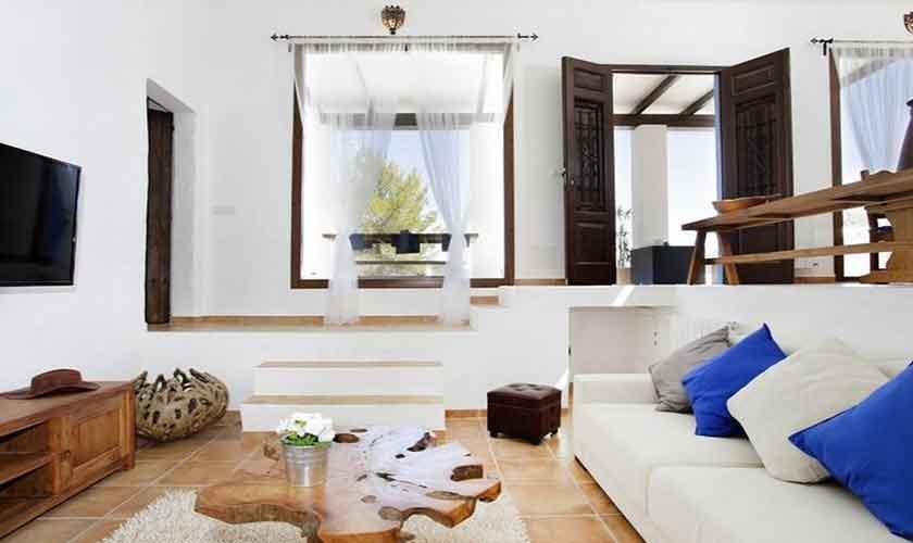 Wohnraum Ferienhaus Ibiza 6 Personen IBZ 96