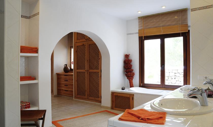 Badezimmer Ferienvilla  Ibiza für 6 Personen IBZ 45