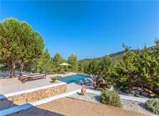 Pool und Blick Ferienvilla Ibiza 6 Personen IBZ 10