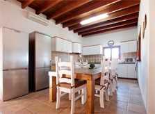 Küche Villa Ibiza Pool Internet Klimaanlage 8 Personen IBZ 11