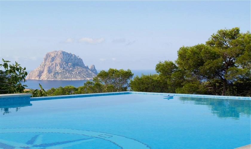 Pool und Meerblick Villa Ibiza IBZ 11