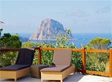 Terrasse mit Meerblick Villa Ibiza IBZ 11