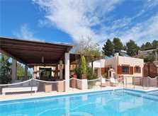 Pool mit Kindersicherung Villa Ibiza 8 Personen IBZ 11