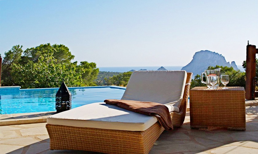 Pool Ferienhaus Ibiza Internet 8Personen IBZ 11