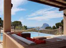 Pool und Meer Villa Ibiza 8 Personen Internet IBZ 11