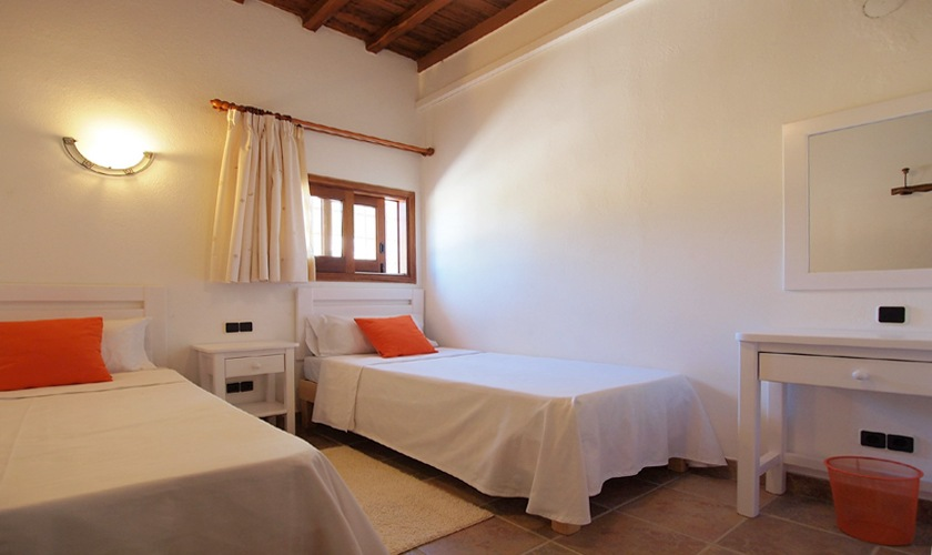 Schlafzimmer Ferienvilla Ibiza San José 8 Personen IBZ 11