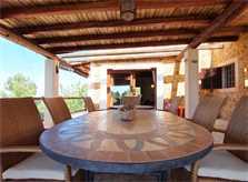 Esstisch Terrasse Ferienvilla mit Pool Ibiza 8 Personen IBZ 11
