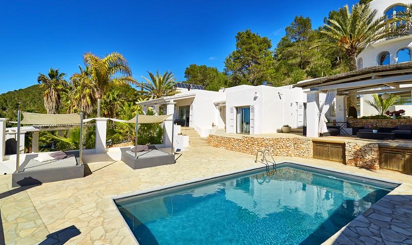 Pool und Villa Ibiza 10 Personen IBZ 12