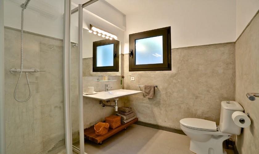 Badezimmer Ferienhaus mit Meerblick Ibiza IBZ 14