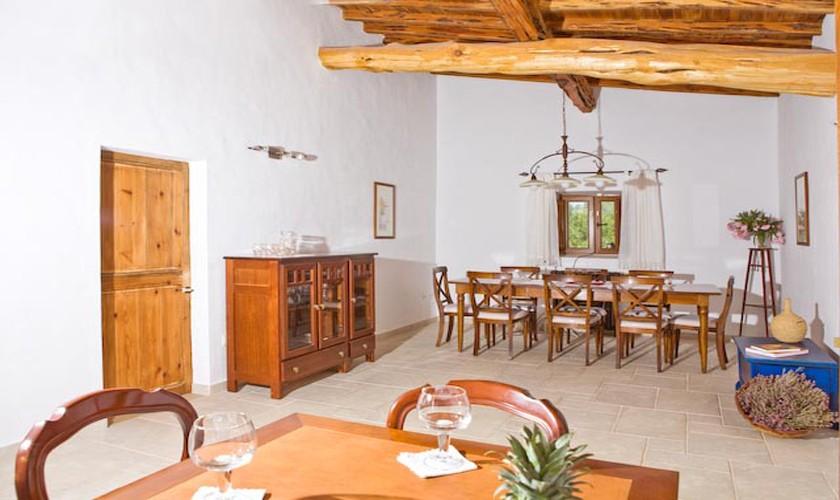 Essbereich Finca Ibiza für 10 Personen IBZ 15