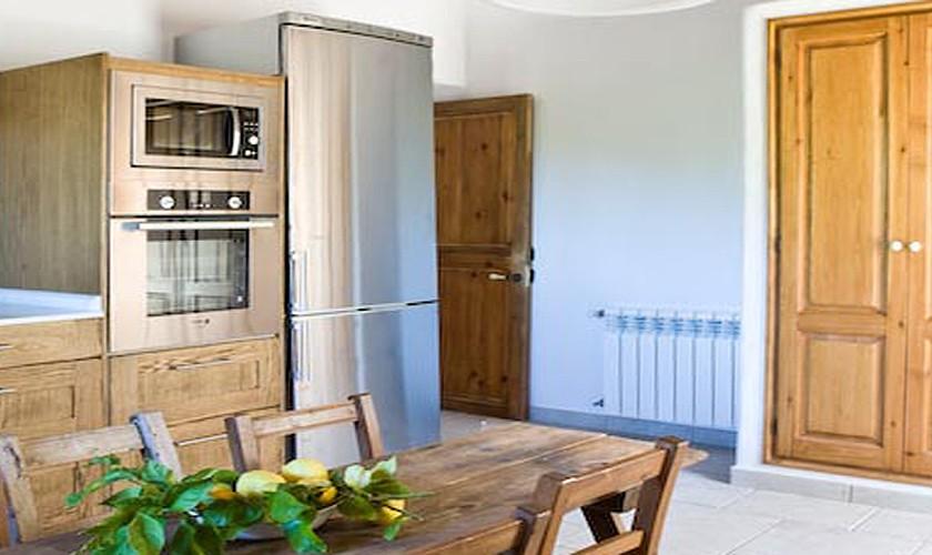 Küche Finca Ibiza für 10 Personen IBZ 15