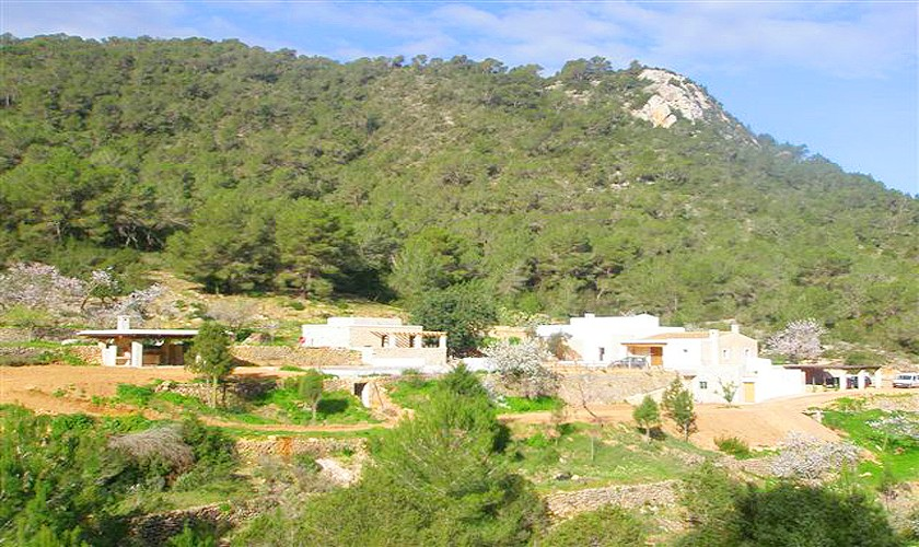 Blick auf die Finca Ibiza für 10 Personen IBZ 15