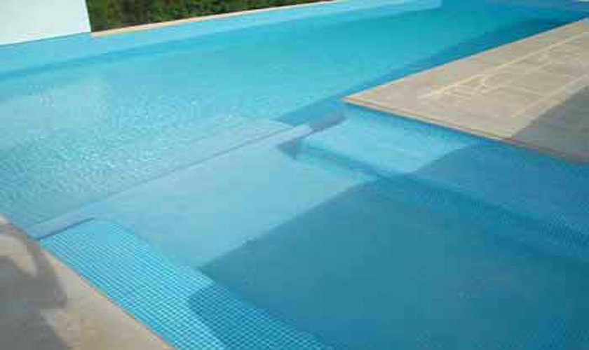 Poolblick Finca Ibiza für 10 Personen IBZ 15