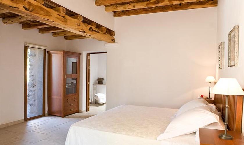 Schlafzimmer Finca Ibiza für 10 Personen IBZ 15