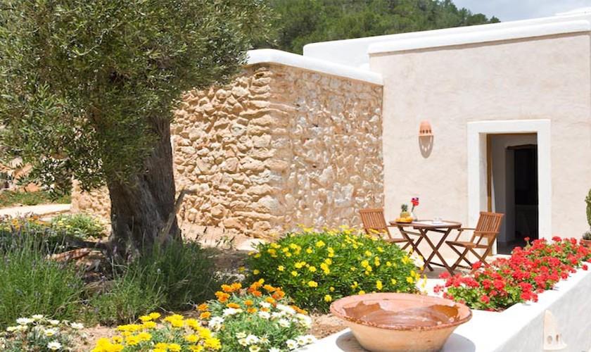Terrasse Finca Ibiza für 10 Personen IBZ 15