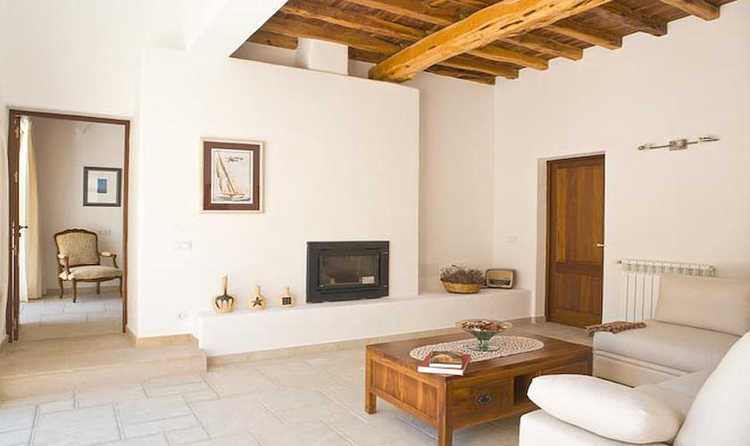 Wohnraum Finca Ibiza für 10 Personen IBZ 15