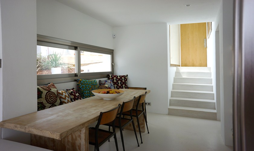 Essplatz Luxusvilla Ibiza für 12 - 13 Personen IBZ 20