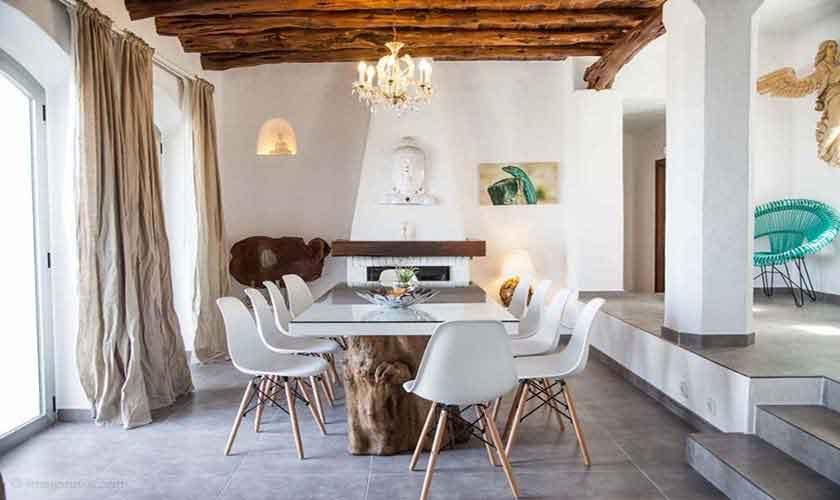 Esstisch Ferienhaus Ibiza 10 Personen IBZ 26