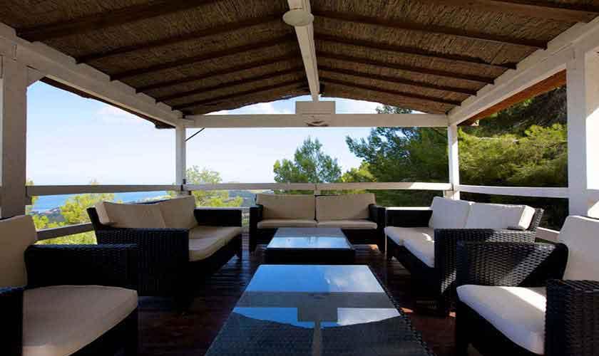 Terrasse Ferienhaus Ibiza 10 Personen IBZ 26