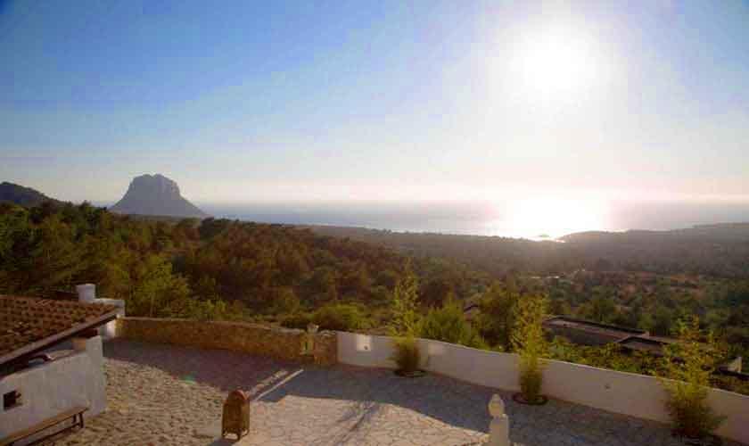 Meerblick Ferienhaus Ibiza 10 Personen IBZ 26