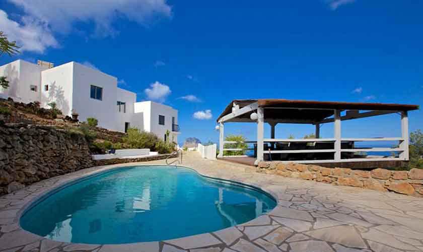 Pool und Ferienhaus Ibiza 10 Personen IBZ 26
