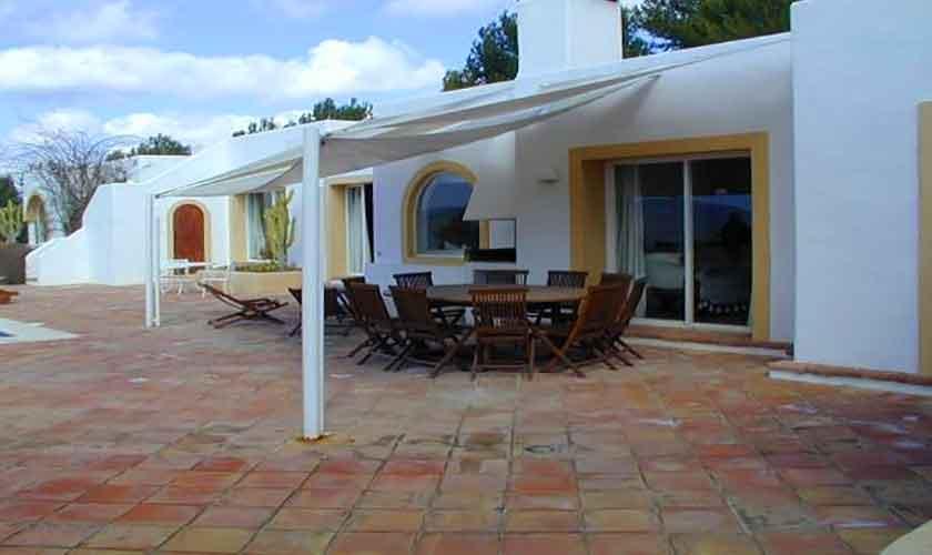 Terrasse Finca Ibiza 28