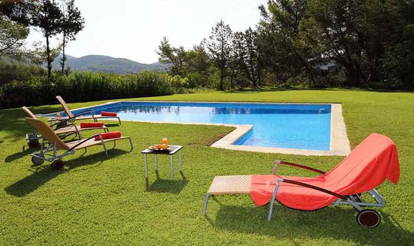 Poolblick Ferienvilla Ibiza IBZ 29