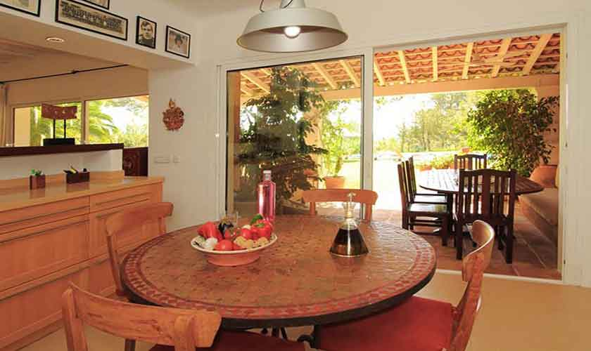 Küche Ferienfinca Ibiza IBZ 29