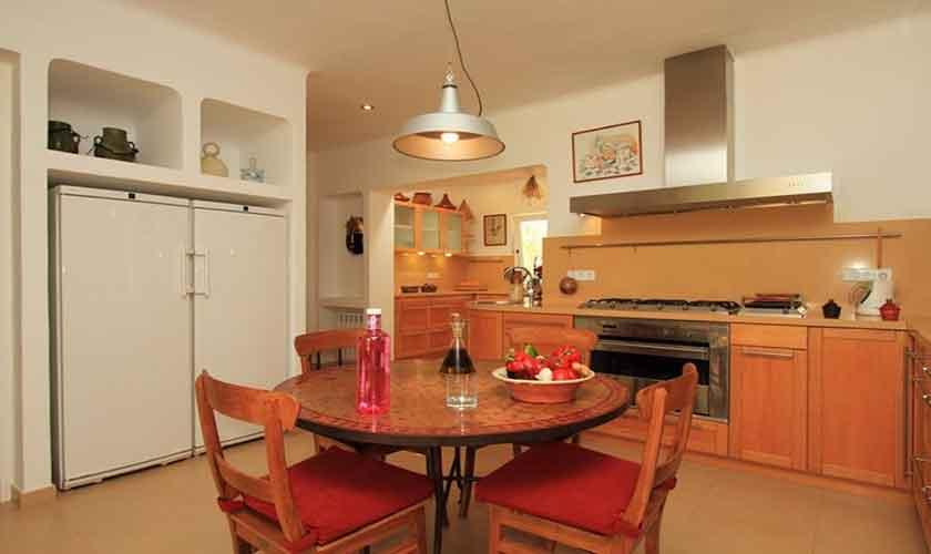 Küche Finca Ibiza IBZ 29