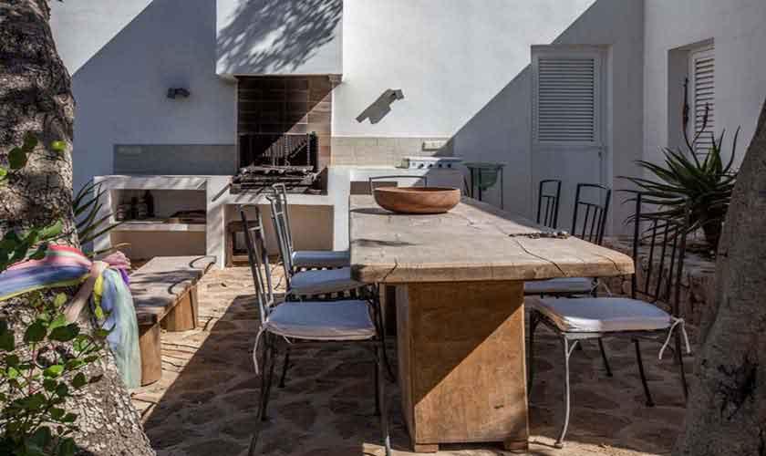 Esstisch im Freien Finca Ibiza Cala Salada IBZ 32