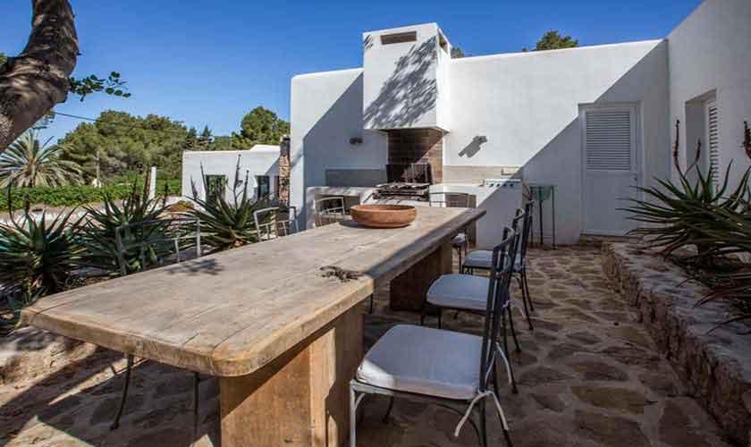 Terrasse Finca Ibiza Cala Salada IBZ 32