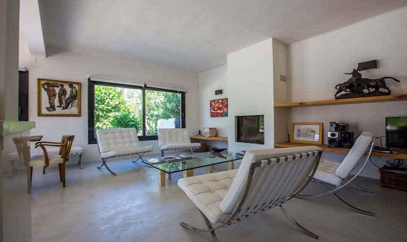 Moderner Wohnraum Finca Ibiza Cala Salada IBZ 32