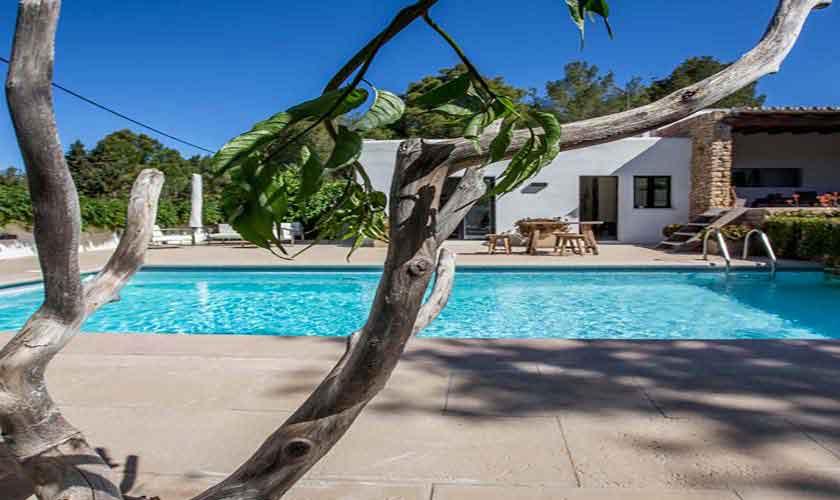 Pool und Ferienvilla Ibiza Cala Salada IBZ 32