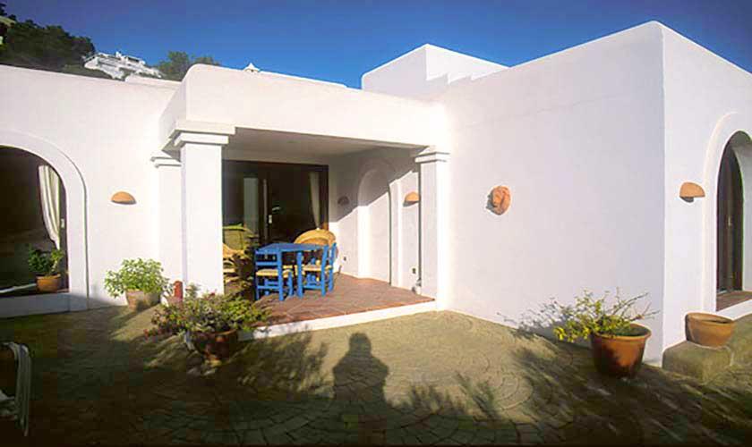 Blick auf das Ferienhaus Ibiza Ses Salines 4 Personen IBZ 5