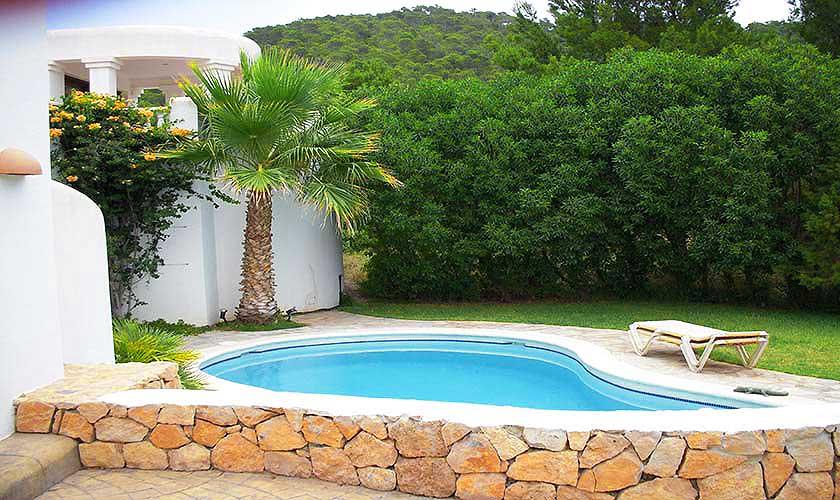 Poolblick Ferienhaus Ibiza Ses Salines 4 Personen IBZ 5