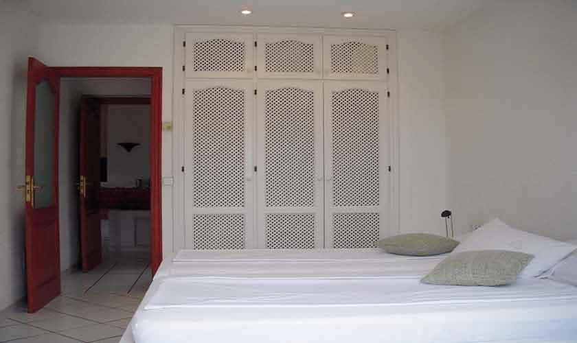 Schlafzimmer Ferienhaus Ibiza Ses Salines 4 Personen IBZ 5