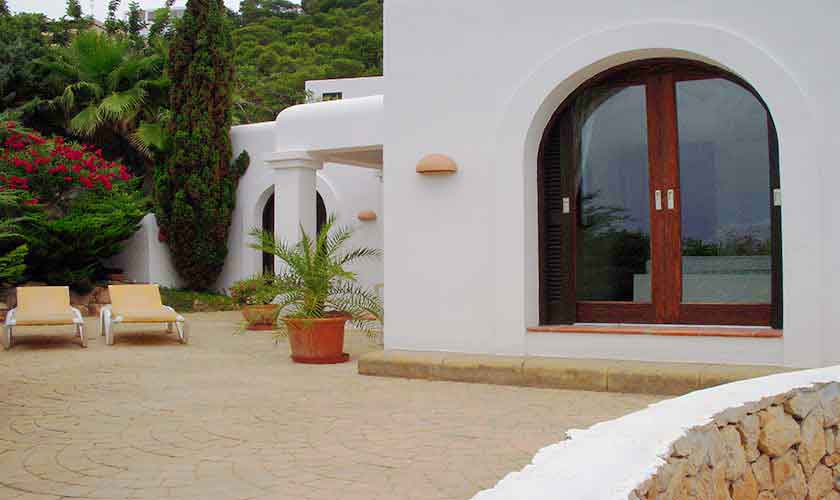 Terrasse Ferienhaus Ibiza Ses Salines 4 Personen IBZ 5