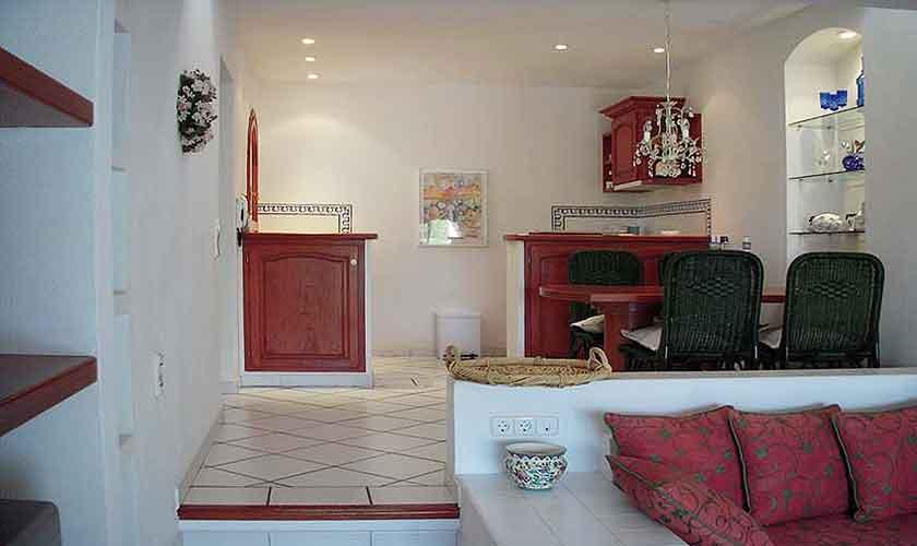 Wohnraum Ferienhaus Ibiza Ses Salines 4 Personen IBZ 5