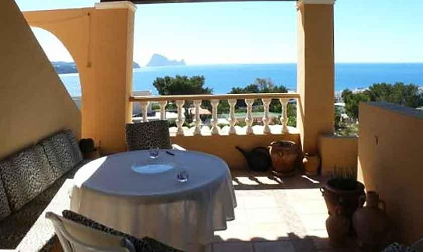 Meerblick Ferienhaus Ibiza für 6 Personen IBZ 56