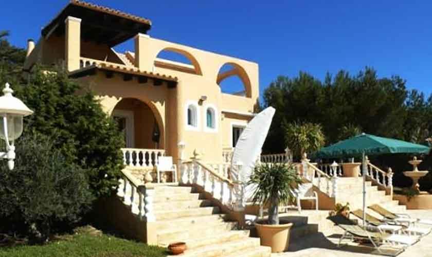 Blick auf die Villa Ibiza IBZ 56