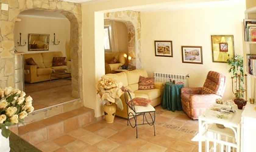 Wohnraum Ferienhaus Ibiza IBZ 56