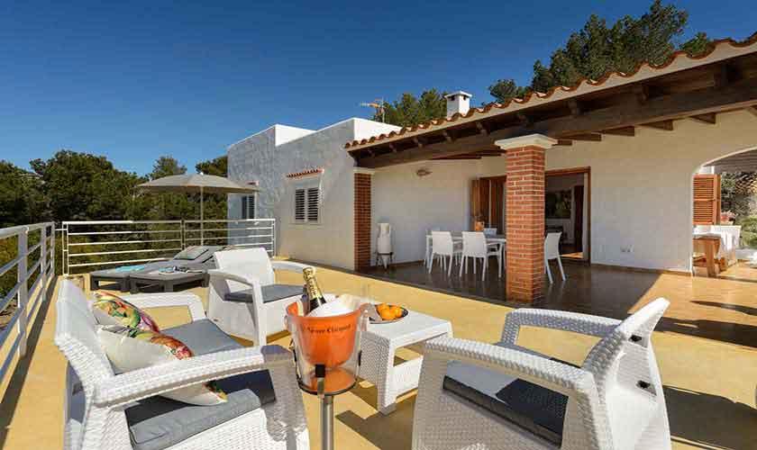Terrasse Ferienhaus Ibiza 12 Personen IBZ 72
