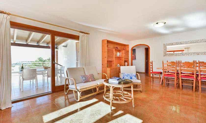 Wohnraum Ferienhaus Ibiza 12 Personen IBZ 72