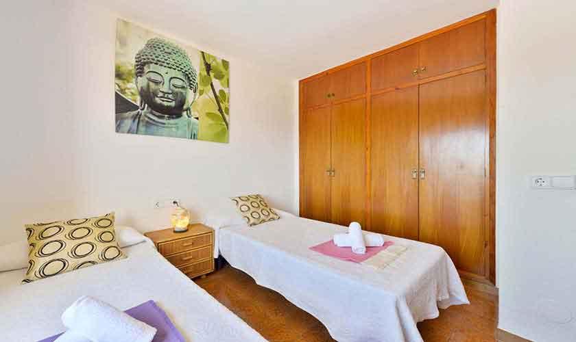 Schlafzimmer Ferienhaus Ibiza 12 Personen IBZ 72