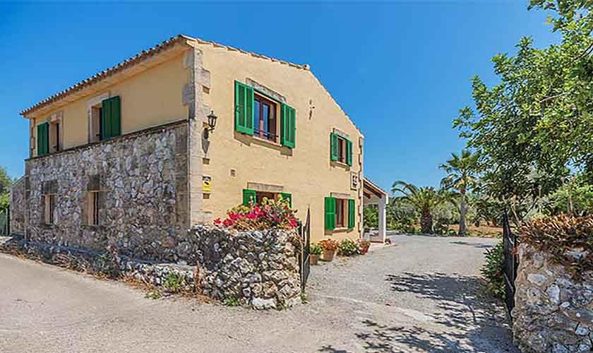 Blick auf die Ferienfinca Mallorca 10 Personen PM 388