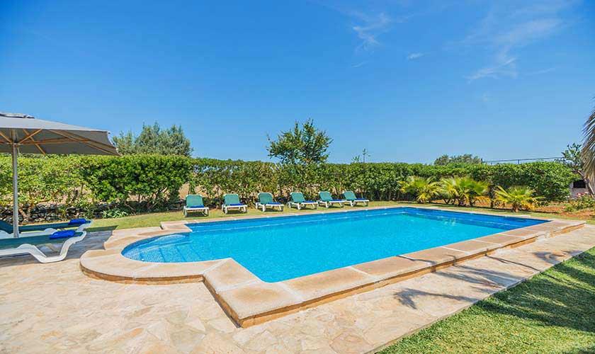 Poolblick Finca Mallorca 10 Personen PM 388